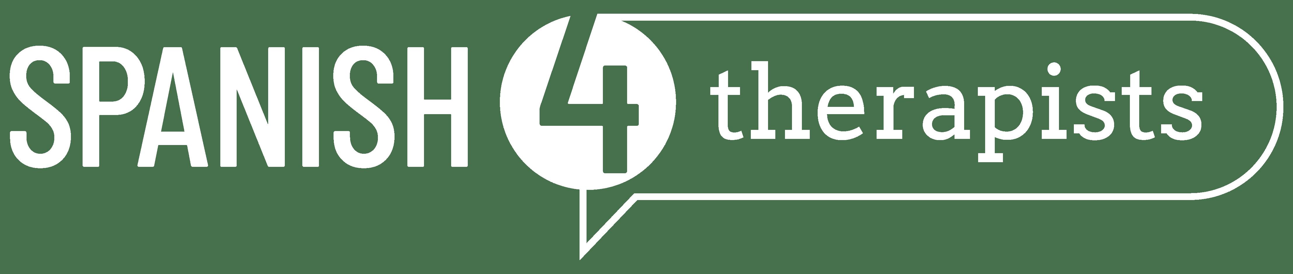 Spanish 4 Therapists